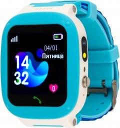 Детские смарт-часы Amigo GO004 Splashproof Camera LED Blue (746403)
