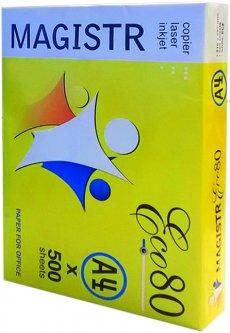 Бумага офисная Magistr Eсо 80 A4 80 г/м2 класс C белая 500 листов (4820141570103)
