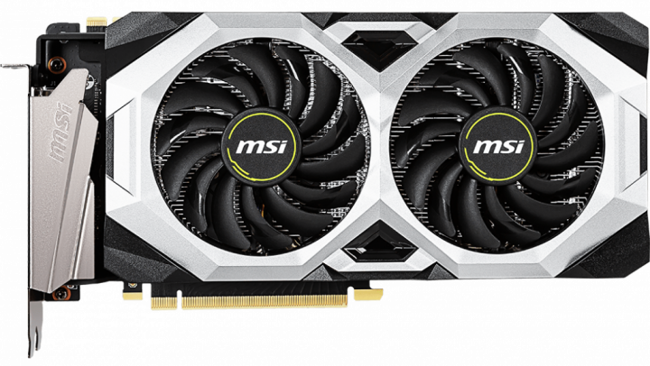MSI PCI-Ex GeForce RTX 2070 Super Ventus OC 8GB GDDR6 (256bit) (1785/14000) (HDMI, 3 x DisplayPort) (RTX 2070 SUPER VENTUS OC) - зображення 1