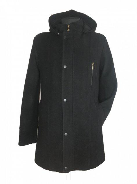 Пальто Season М-419 58 кашемір Чорне - зображення 1