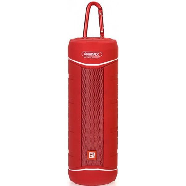 Портативная акустика блютуз колонка Bluetooth REMAX RB-M10 Original Красная - изображение 1