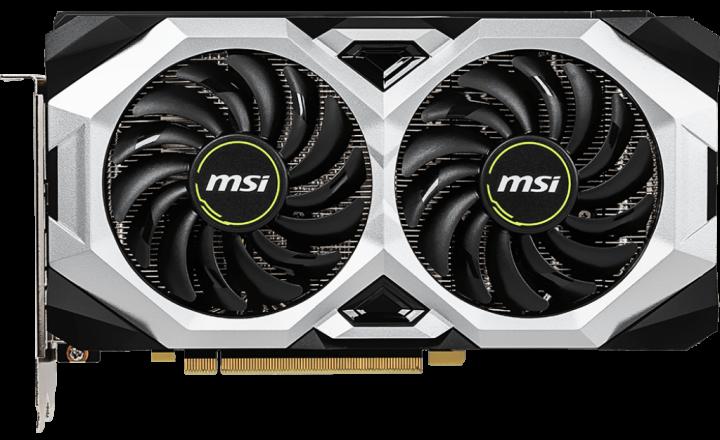 MSI PCI-Ex GeForce RTX 2060 Super Ventus GP OC 8GB GDDR6 (256bit) (1665/14000) (HDMI, 3 x DisplayPort) (RTX 2060 SUPER VENTUS GP OC) - изображение 1