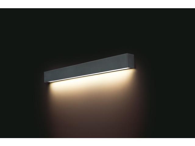 Світильник меблевий Nowodvorski 9617 Straight Wall LED Graphite M - зображення 1