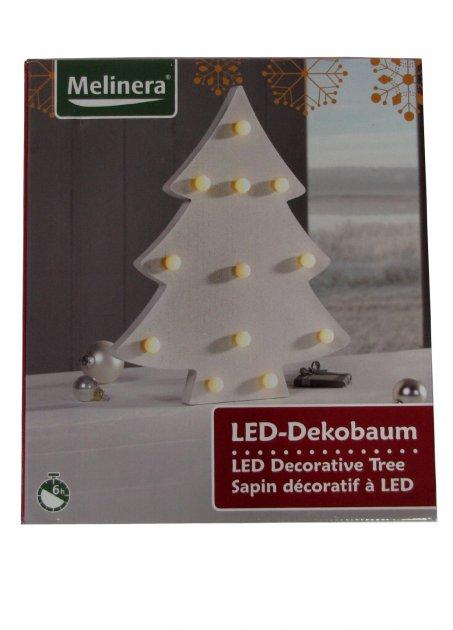 """LED світильник """"Ялинка"""" Melinera 32х39х4,5см Білий osv0000441 - зображення 1"""