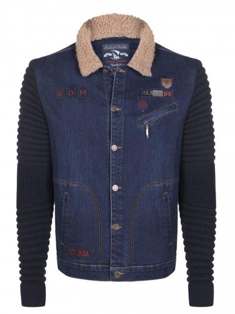 Джинсова куртка Giorgio di Mare Синя 2XL (GI7930371) - зображення 1