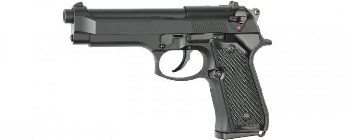 Пістолет Beretta M92F/M9 STTI Plastic Green Gas (Страйкбол 6мм) - изображение 1