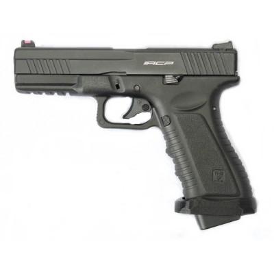 Пістолет APS Action Combat Pistol CO2 Black (Страйкбол 6мм) - зображення 1