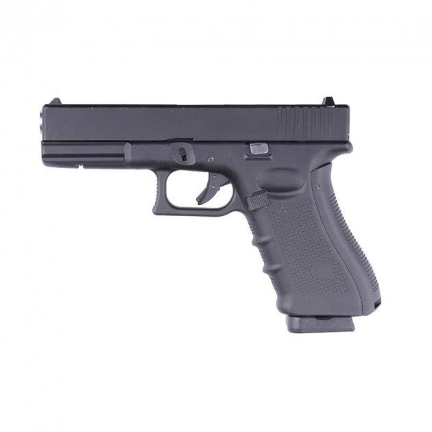 Пістолет WELL Glock 17 Metal G197 GBB (Страйкбол 6мм) - зображення 1