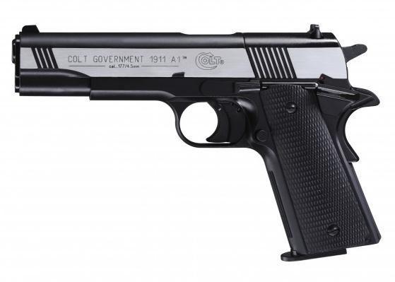 Пневматичний пістолет Umarex Colt Goverment 1911 Dark Ops - зображення 1