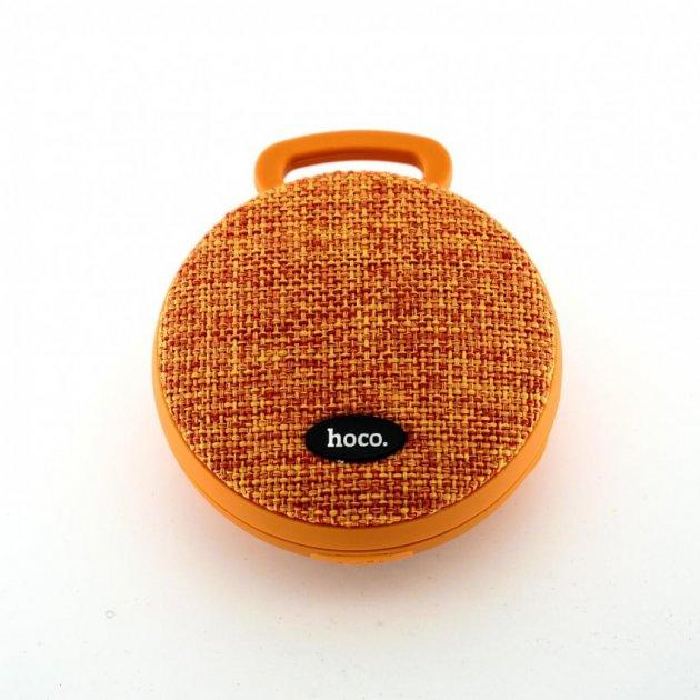 Bluetooth колонка Hoco BS7 mobu sports Orange (68665) - изображение 1