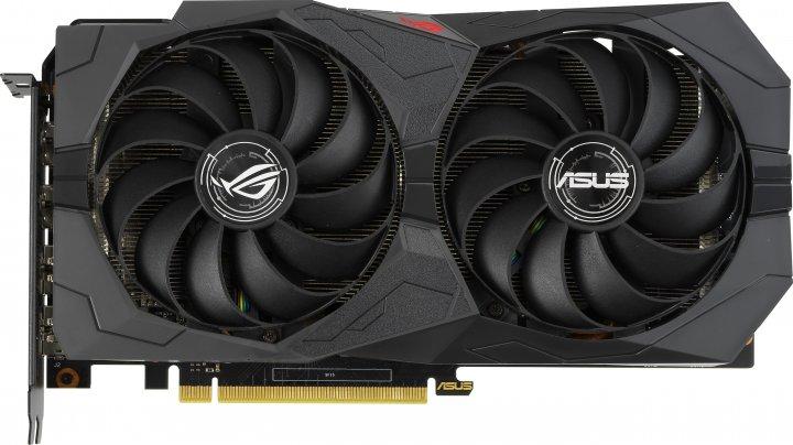 Asus PCI-Ex GeForce GTX 1650 Super ROG Strix OC Gaming 4GB GDDR6 (128bit) (1530/12002) (2 x HDMI, 2 x DisplayPort) (ROG-STRIX-GTX1650S-O4G-GAMING) - зображення 1