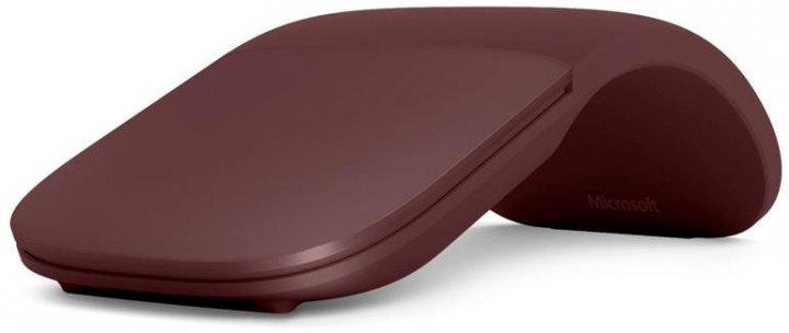 Microsoft Surface Arc Mouse Burgundy (CZV-00011) 82,49 г (включая батарейки) бордовый - изображение 1