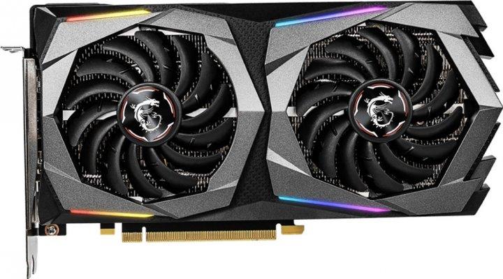 MSI PCI-Ex GeForce RTX 2060 Super Gaming 8GB GDDR6 (256bit) (1650/14000) (HDMI, 3 x DisplayPort) (RTX 2060 SUPER GAMING) - зображення 1