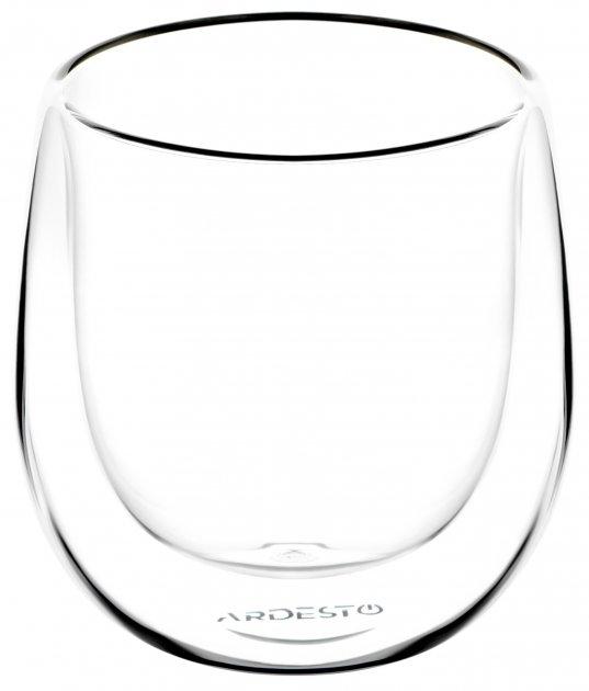 Набор чашек Ardesto для американо с двойным дном 120 мл 2 шт (AR2612G) - изображение 1