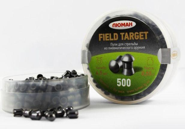 "Пули ""Люман"" Field Target 0,55 г/500 шт. - изображение 1"