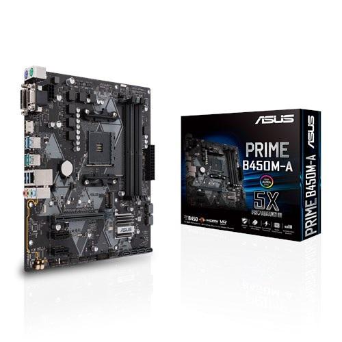 Материнская плата Asus Prime B450M-A Socket AM4 - изображение 1