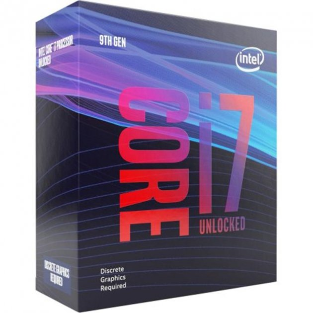 Процесор Intel Core i7 9700KF 3.6 GHz (12MB, Coffee Lake, 95W, S1151) Box (BX80684I79700KF) - зображення 1