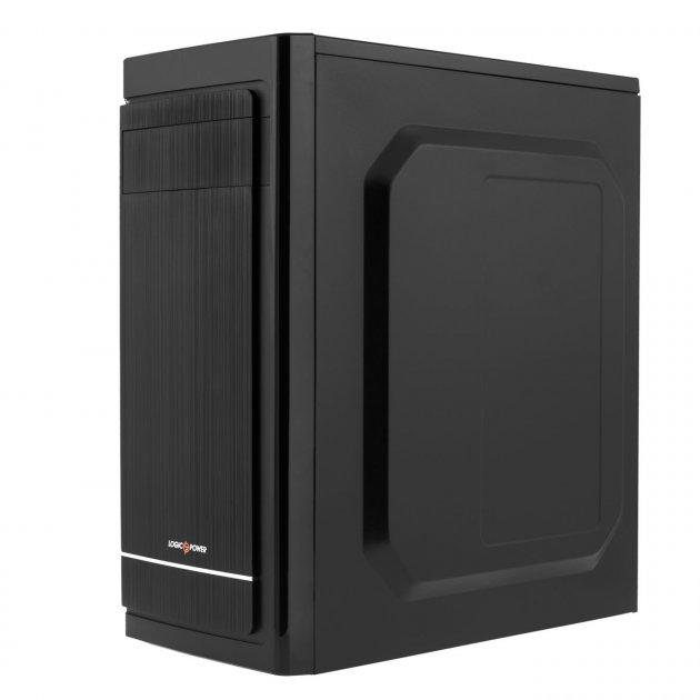 Корпус Logicpower 2006-500W 12см, 2хUSB2.0, Black - зображення 1