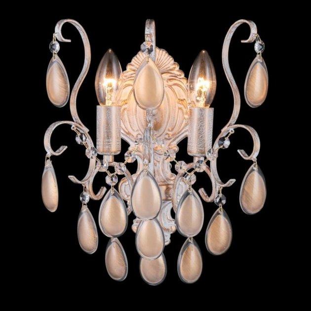 Бра Crystal Lux Sevilia AP2 Gold - зображення 1