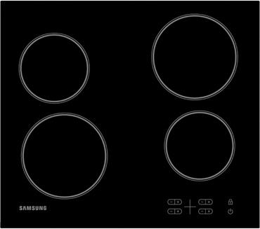 Варочная поверхность электрическая SAMSUNG C61R1AEME - изображение 1