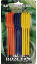 Стрелы Man Kung MK-PL-3C, набор 12 шт, 3 цвета (31/MK-PL-3C) - изображение 1