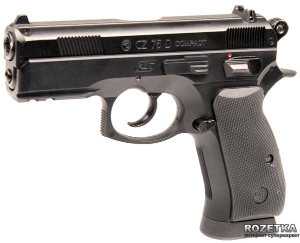 Пневматичний пістолет ASG CZ 75D Compact (23702522) - зображення 1