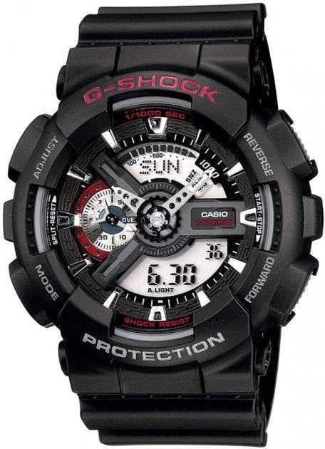 Чоловічий годинник CASIO GA-110-1AER - зображення 1