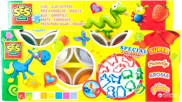 Набор для лепки Праздничный Ses Creative (0498S) - изображение 1
