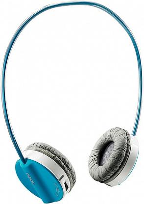 Наушники Rapoo Wireless Stereo Headset H3050 Blue - изображение 1