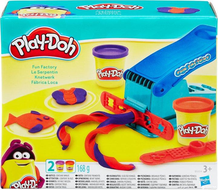 Набор для лепки Hasbro Play-Doh Веселая фабрика (B5554) - изображение 1