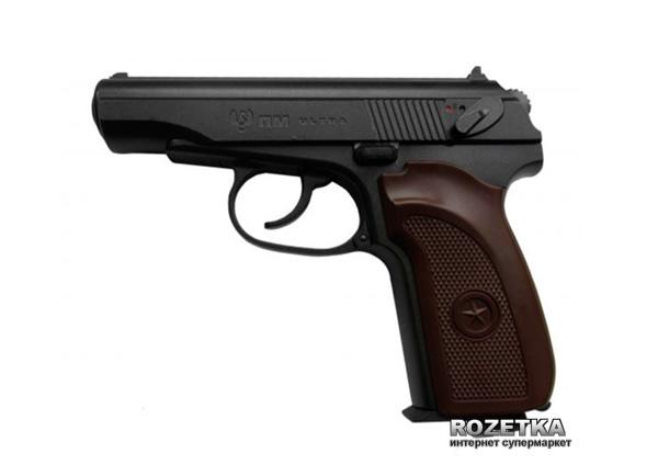 Пневматичний пістолет Umarex Makarov Ultra Blowback (5.8137) - зображення 1