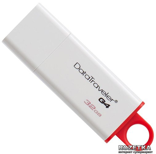 Kingston DataTraveler I G4 32GB (DTIG4/32GB) - зображення 1