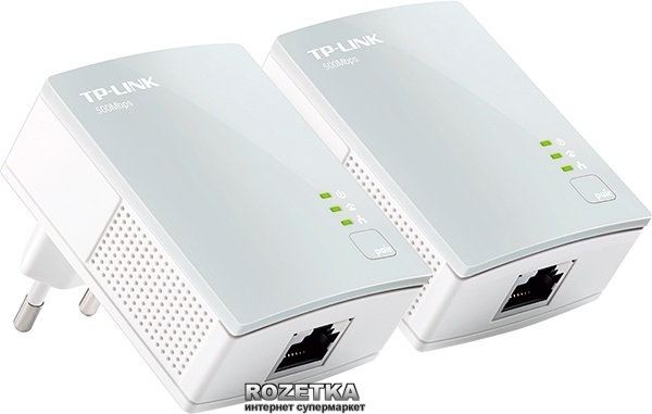 Комплект адаптерів PowerLine TP-LINK TL-PA4010KIT - зображення 1