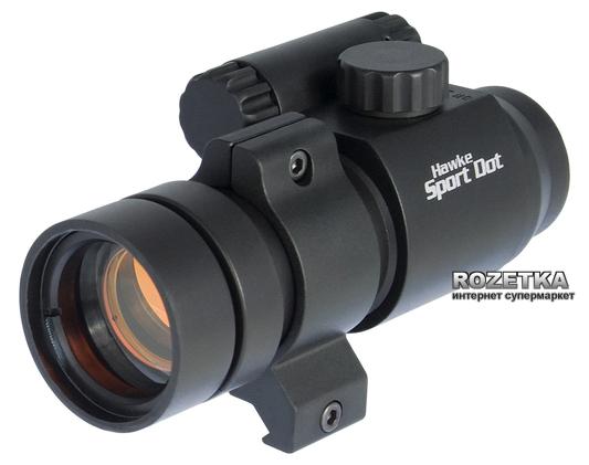 Коліматорний приціл Hawke Sport Dot 1x30 WP 9-11 мм/Weaver (920802) - зображення 1