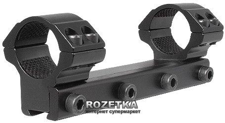 """Крепление (моноблок) для прицела Hawke Matchmount 9-11 mm 1"""" Med (920806) - изображение 1"""