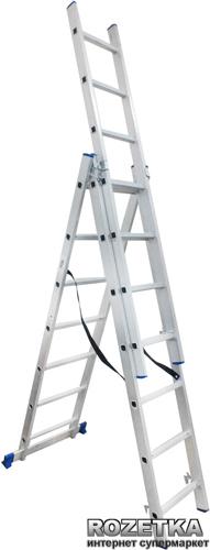 Универсальная лестница Werk LZ3207B 3х7 (35273) - изображение 1