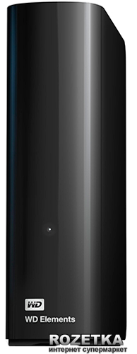 """Жесткий диск Western Digital Elements Desktop 4TB WDBWLG0040HBK-EESN 3.5"""" USB 3.0 External Black - изображение 1"""