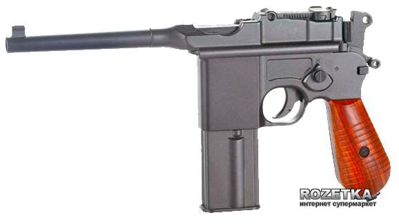 Пневматичний пістолет SAS Mauser M712 Blowback (23701437) - зображення 1