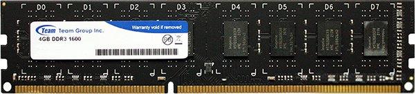 Оперативная память Team Elite DDR3-1600 4096MB PC-12800 (TED34G1600C1101) - изображение 1