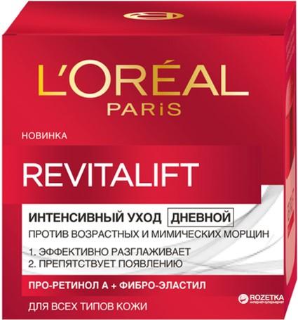 Крем L'Oreal Paris Revitalift Дневной лифтинг-уход 50 мл (3600520239354) - изображение 1