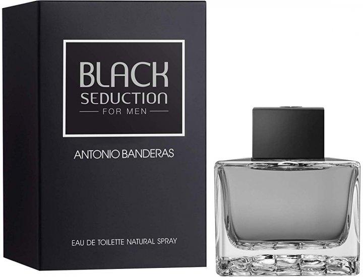 Туалетная вода для мужчин Antonio Banderas Black Seduction 100 мл (8411061695951) - изображение 1