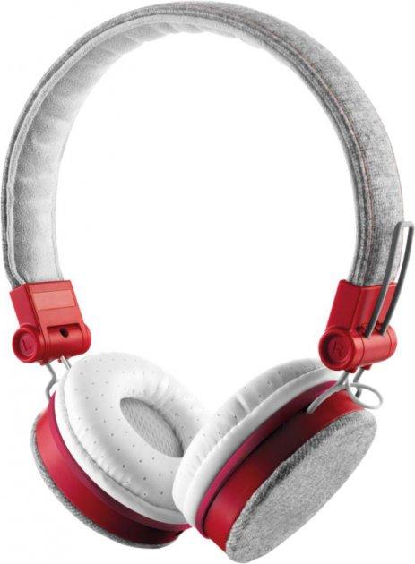 Наушники Trust Urban Revolt Fyber Headphone Grey/Red (TR20073) - изображение 1