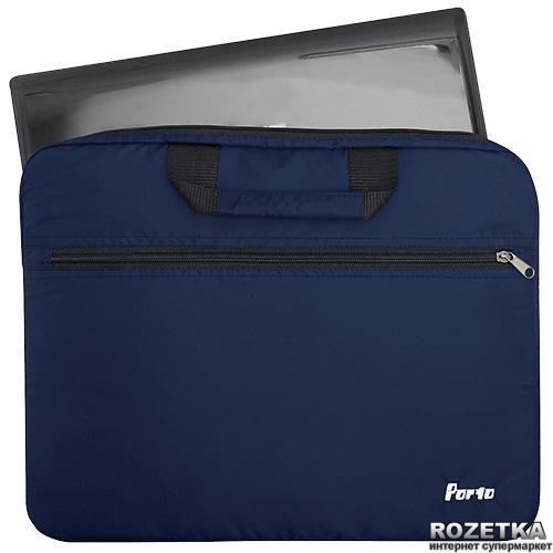 Сумка для ноутбука Porto 15.6'' Dark Blue (PC111bu) - изображение 1