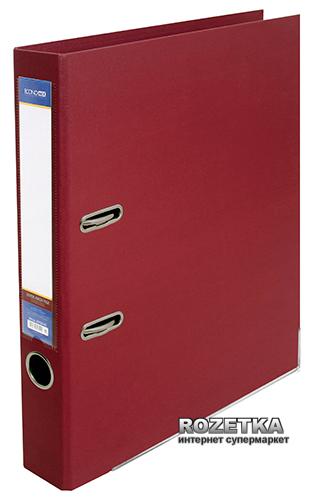 Папка-регистратор Economix LUX А4 50 мм Бордовая (39722*-18)