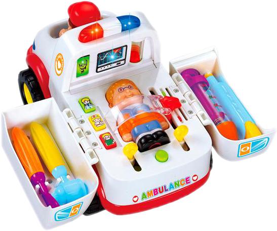 Игрушка Hola Toys Скорая помощь (836) (6944167183661) - изображение 1