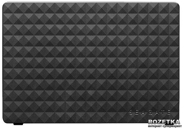 Жорсткий диск Seagate Expansion 4TB STEB4000200 3.5 USB 3.0 External Black - зображення 1
