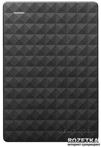 Жорсткий диск Seagate Expansion 2TB STEA2000400 2.5 USB 3.0 External Black - зображення 1