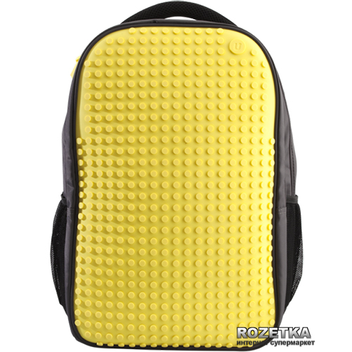 Рюкзак Upixel Maxi Черный с желтым (6955185800669) - изображение 1