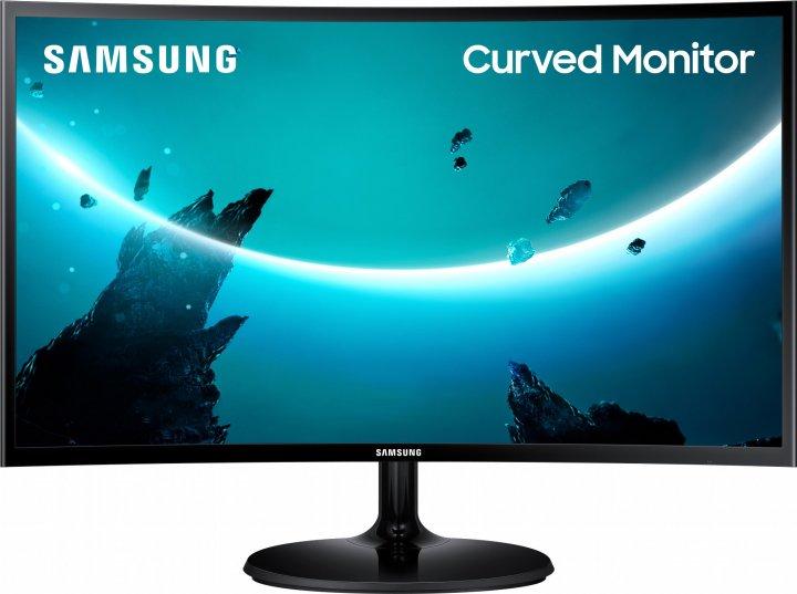 "Mонитор 23.5"" Samsung Curved C24F390F (LC24F390FHIXCI) - изображение 1"