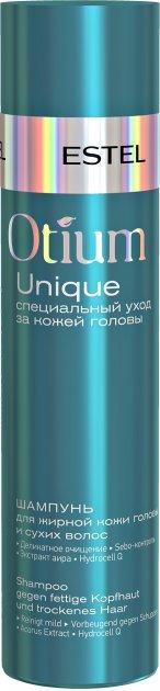 Шампунь Estel Professional Otium Unique для жирної шкіри голови і сухого волосся 250 мл (4606453046976) - зображення 1